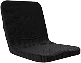 bonmedico All-in-One Memory Foam Seat Cushion - Home Office Gel Comfort for Coccyx/Tailbone & Sciatica Pain Relief with Back Support, Meditation Cushion - Great for Car Seat Cushion or Office Seat