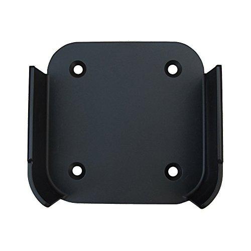Supporto per staffa di design di alta qualità per Apple TV 4 / Apple TV 4k, nasconde il supporto per TV box dietro al televisore; Apple TV 4 e cavo HDMI NON inclusi, solo il supporto a parete Facile da installare - applicare un adesivo adesivo e atta...