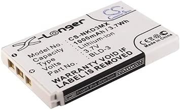 Cameron Sino 1000mAh Battery for Nokia 2100, 3200, 3205, 3205i, 3300, 6200, 6220, 6225, 6560, 6585, 6610, 6610i, 7210, 7250, 7250i