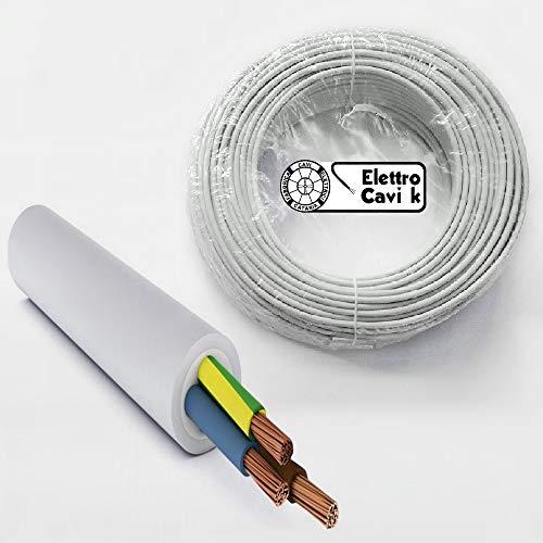 ELETTRO CAVI K - CAVO FG16OR16 3G1,5 3x1,5 mm² IN DOPPIA GUAINA PER ESTERNO 3G1.5 3x1.5 mm² TRIPOLARE 3 POLI 50 METRI