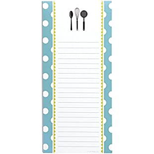 """Customer reviews C.R. Gibson Magnetic, 75 Sheet, Shopping List Pad, Perfect for Notes & Doodles, Measures 4.5"""" x 9.25"""" - Kitchen Gear:Viralbuzz"""