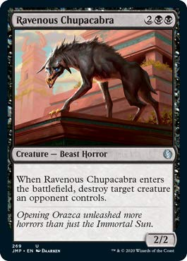 Magic: The Gathering - Ravenous Chupacabra - Jumpstart