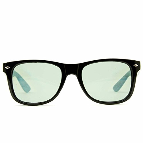 GloFX difracción última gafas-tintada en negro - efecto de prisma gafas de sol estilo EDM arco iris 3d