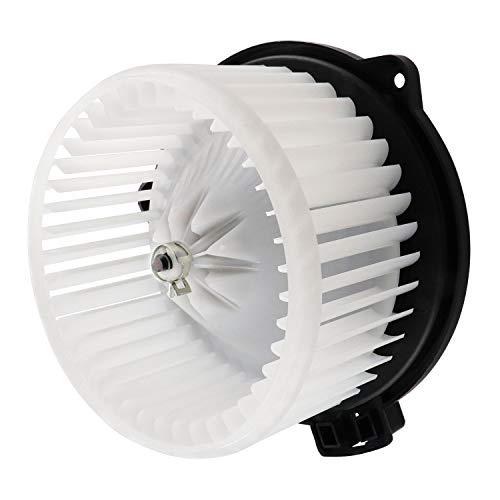 HVAC Heater Blower Motor ABS w/Fan Cage MR500469 700036 for 2001-2005 Sebring/Dodge Stratus, 2000-2006 Mazda MPV, 2000-2005 Mitsubishi Eclipse, 2001-2006 Mitsubishi Montero