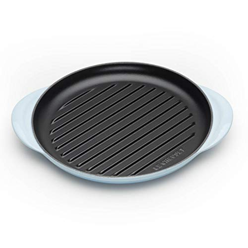 LE CREUSET 20204254200460 Runder Grill, gusseisen