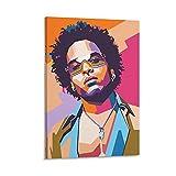 shitu Lenny Kravitz Poster, dekoratives Gemälde, Leinwand,