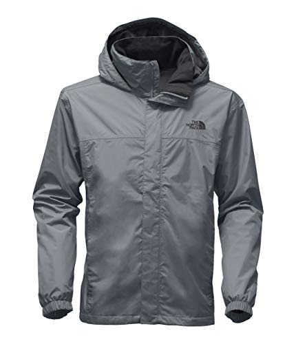 The North Face Men's Resolve Jacket, Mid Grey/Mid Grey, X-Large