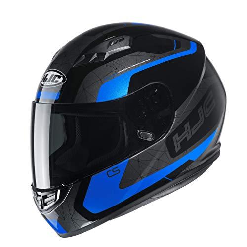 Casco moto HJC CS 15 DOSTA MC2, Nero/Blu, M