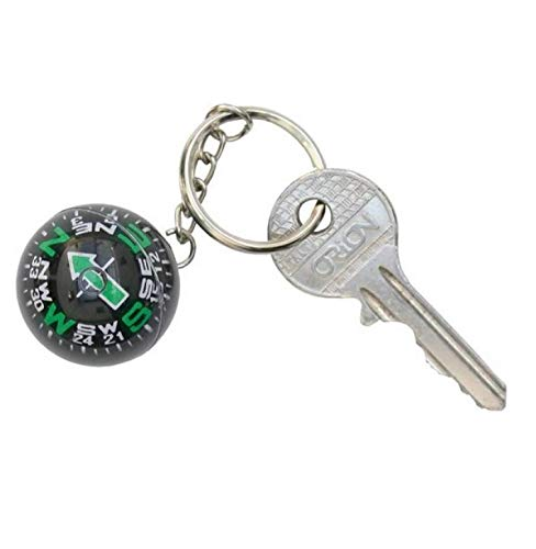 DAM Adventskalender Schlüsselanhänger DAMCOMPASS Ball Keychain diam. 3 cm, On Display Card, mehrfarbig (1)