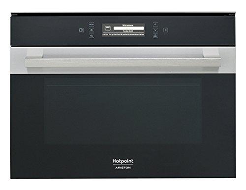 Hotpoint MP 996 IX a micro-ondes combiné encastrable 40L 1000 W Noir, Acier inoxydable – Four à micro-ondes