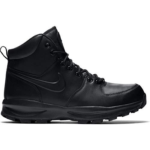 Nike Manoa Leather Boot Black MENS-454350-003_FBM1 Size: 8, Color: Black