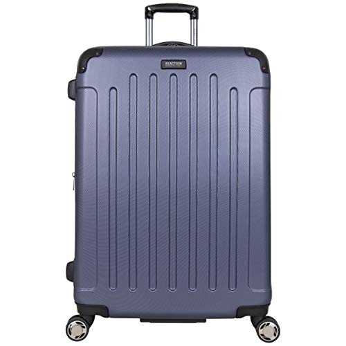 "Kenneth Cole Reaction Renegade 28"" Lightweight Hardside Expandable 8Wheel Spinner CheckedSize Luggage Smokey Purple inch"