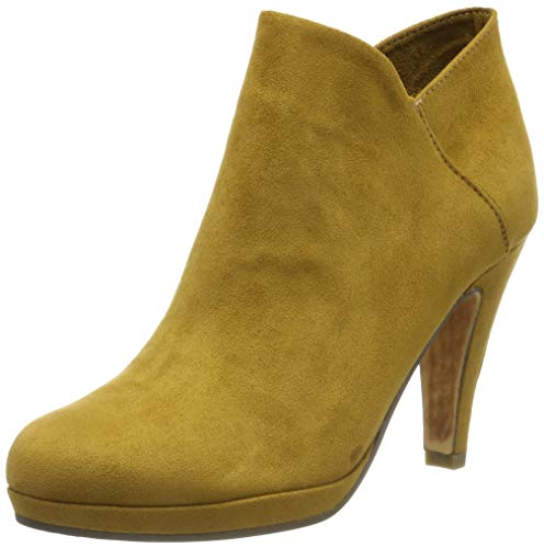 MARCO TOZZI Damen 2-2-25329-33 Stiefeletten, Gelb (Mustard 606), 38 EU