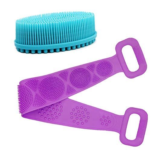 Silicone Body Scrubber, Back Bath Body Brush for Shower