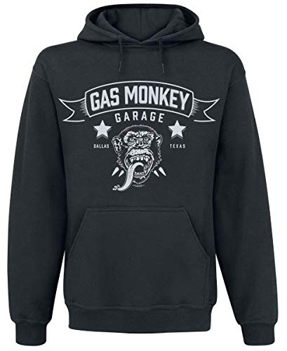 Gas Monkey Garage Blood, Sweat & Beers Kapuzenpullover schwarz L