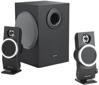 Creative Labs Inspire T3100 Speakers Altavoz 6 W Negro - Set de Altavoces (2.1 Canales, 6 W, Negro, 17 W)