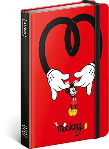 Mickey Mouse Disney Offizielles Terminplaner 2020, Wochenansicht, 16 x 11 cm, Hardcover