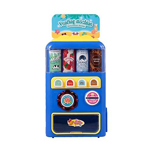 Goolsky Distributore Automatico di Giocattoli Elettronici Macchine per Bevande Bambini Istruzione Apprendimento Giocattoli per Ragazzi e Ragazze