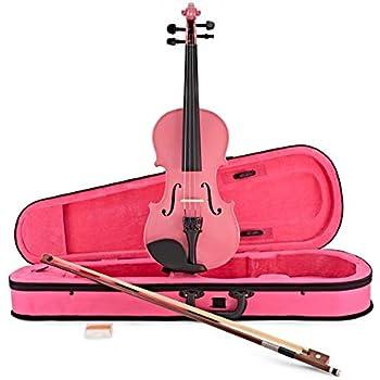 Violín de Estudiante Tamaño de 1/2 de Gear4music Rosa: Amazon.es: Instrumentos musicales
