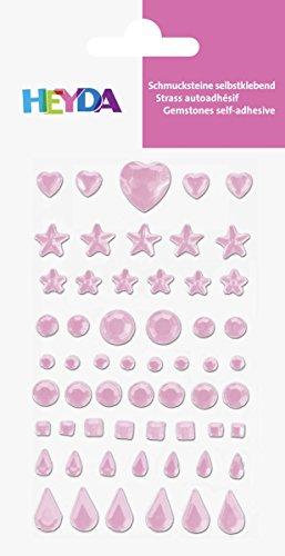 Baier & Schneider Poesie di etichetta, gioielli di gioielli di pietra, Cuore, Stella, cerchio, quadrato, Goccia,
