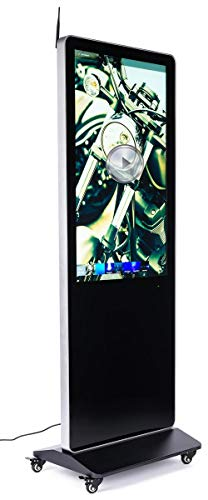 Best Price Displays2go 43 Digital Signage Advertisement Panel with Media Player – Black (DGFSTCH4...
