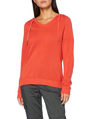 Cecil Damen 301267 Hoodie Kapuzenpullover, Pumpkin orange, X-Large