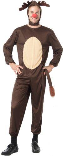 Vegaoo - Costume da Renna per Adulti Natale - LCostume da Renna per Adulti Natale L