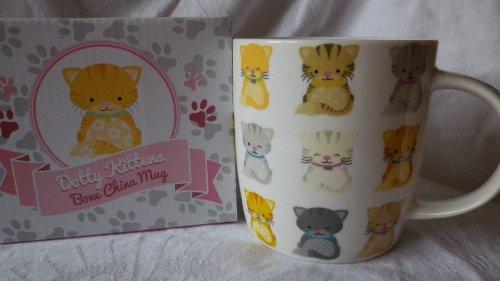 Puckator MUG160 Mug Motif Chatons par Lauren Billingham Porcelaine