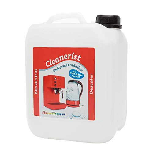 5 litros de descalcificador – Eliminador de cal para cafeteras automáticas I Cafetera I Hervidor de agua I compatible con todos los fabricantes