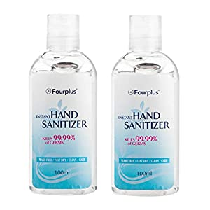 Instant Hand Sanitizer Travel Size 100ML, Effective 99.99% Skin Cleansing, Lovor Disposable Refreshing Washless Hand Soap Gel, Light Moisturizing, Non-irritating, Quick Drying, No Water Required