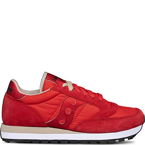 Saucony - Jazz Original - Red/Tan