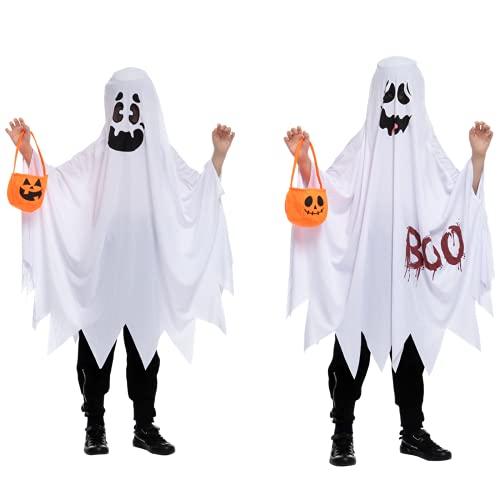 Child Unisex Ghost costume, 2 PCs (3T (3-4 yr))