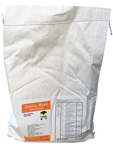 Zitronensäure 5 kg in Gries/Pulver, monohydrat, Lebensmittelqualität E330, Entkalker