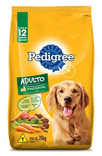 Ração Para Cachorros Pedigree Carne e Vegetais Adultos Raças Médias e Grandes 20kg