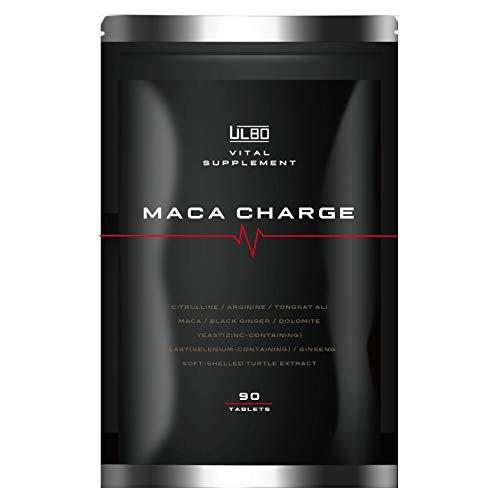 ULBO MACA CHARGE シトルリン アルギニン 亜鉛 マカ 厳選10種類 90粒 日本製