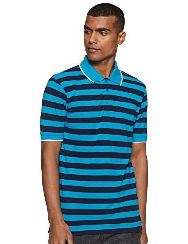 Amazon Brand - Symbol Men's Striped Regular fit Polo (B07P5JT1DX_CB & in_S)