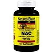 Nature's Blend NAC (N-Acetyl-L-Cysteine) 600 mg 100 Capsules