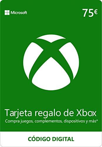 Xbox Live - 75 EUR Tarjeta Regalo [Xbox Live Código Digital]
