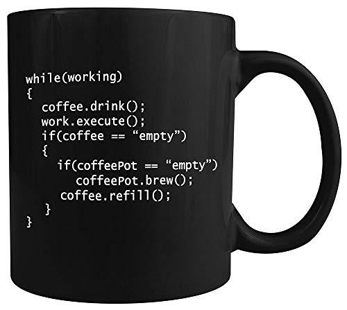 N\A Coffee ++ Program - Taza de café de cerámica - es un Gran Regalo para los programadores
