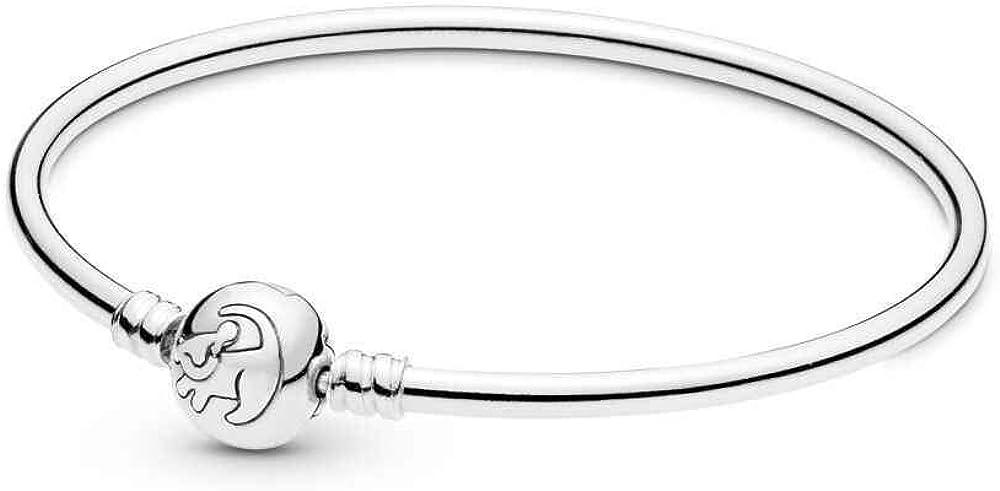 Pandora bracciale rigido da donna in argento stearling 925 598047CCZ-19