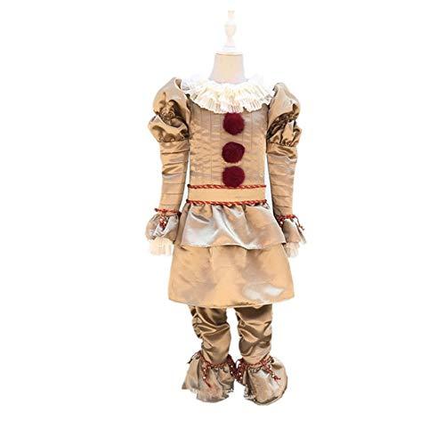 AHJSN Bambini 2019 Cosplay Costume Abito Clown per Bambini Halloween Carnevale Party m Adulto