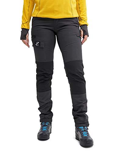 RevolutionRace Damen Nordwand Pants, Hose zum Wandern und für viele Outdoor-Aktivitäten, Grey, L