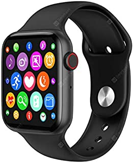 Smartwatch W26+ - 1.75 inch Full Touch HD Screen - Fitness Watch - ECG Heart Rate Monitor Waterproof Bluetooth Call - Blac...