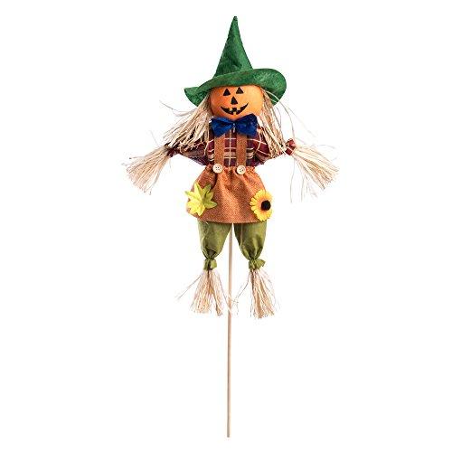 Carnival Toys- Spaventapasseri Su Bastoncino Con Grembiule E Cappello, 9105