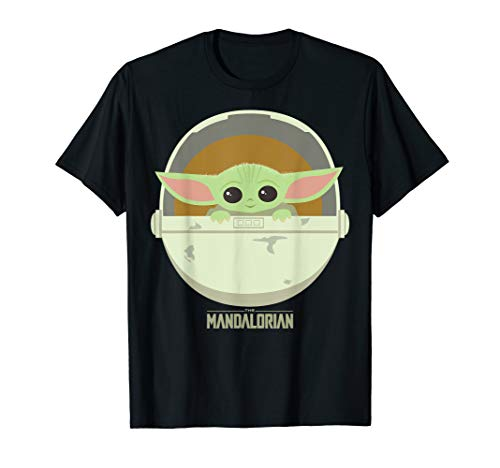 Star Wars The Mandalorian The Child Bassinet Portrait T-Shirt
