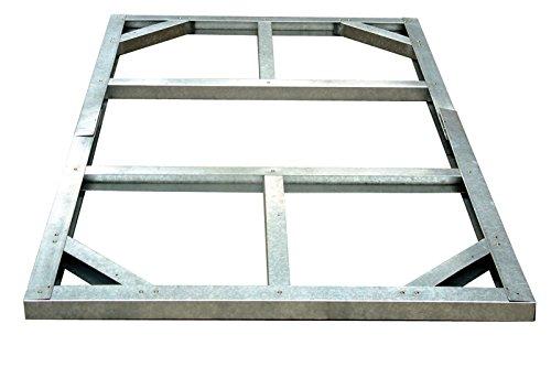 Tepro Metall-Unterkonstruktion, Riverton, silber, 112.1x192.2x5 cm, 71014