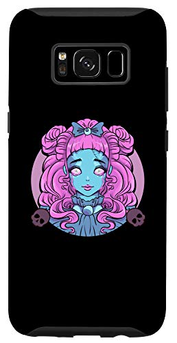 Galaxy S8 Pastel Goth Porcelain Doll Crying Tears Case -  Pastel Goth Porcelain Doll Crying Tears Designs