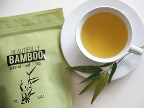 Price comparison product image Bamboo Tea - Rich in Organic Silica- for Healthy Hair,  Skin & Nails- 30 Day Challenge!