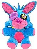 FNAF Toy Freddy Plushie 7'/ 18cm Toys Five Nights at Freddy's Nightmare Cupcake Foxy Balloon Boy Clown Stuffed Dolls FNAF Plushies (Blue Phantom Foxy) || Ship from USA
