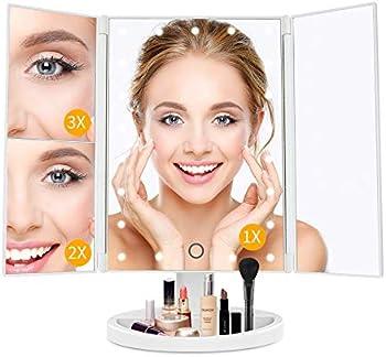 Zdatt LED Makeup Vanity Mirror with Lights